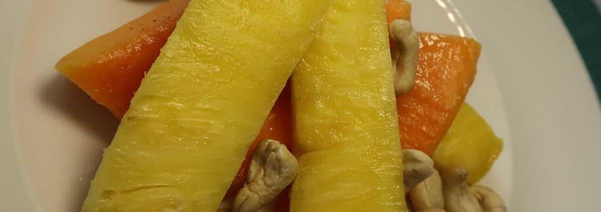 Ananas Papaya Fruchtsalat