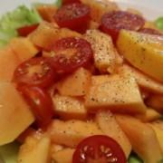 Papaya Tomatensalat