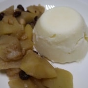 Apfel-Birnkompott mit Gries