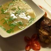 Fleischsuppe mit Lamm
