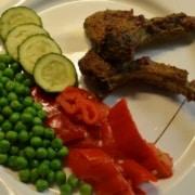 Lamm mit Gemüse
