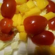 Chinakohl Mango Tomaten Salat