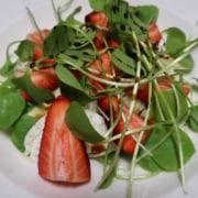 Fenchel Erdbeer Portulak Salat
