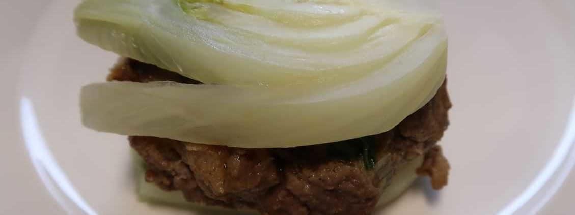 Fenchel mit Burger