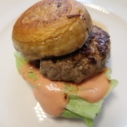 Burger mit Portobello