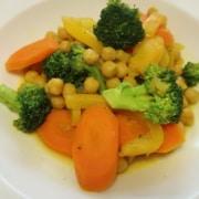 Kichererbsen Gemüse Curry