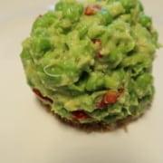 Erbsen Avocado Tartar