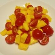 Tomaten Mango Salat