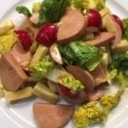 Cervelat Käse Salat