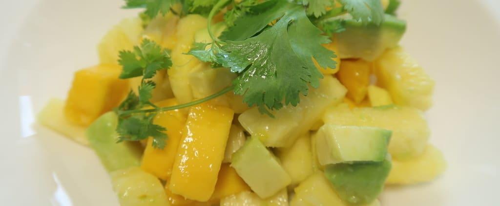 Ananas Avocado Mango Salat