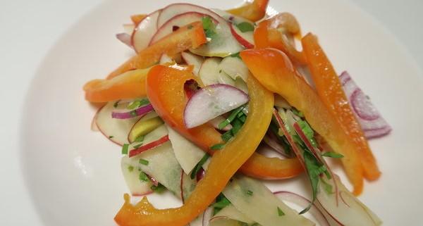 Apfel Peperoni Salat