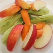Fenchel Karotten Apfel Salat