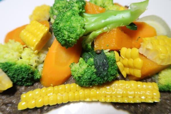 Linsenpüree mit Gemüse