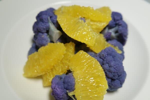Blumenkohl Orangen Salat