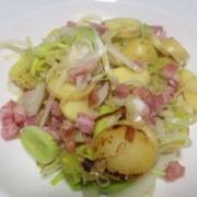 Lauch Kartoffel Speck Gröstel