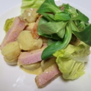 Kartoffel Rollschinken Salat