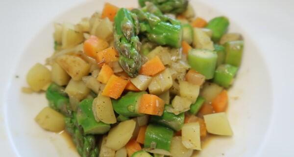 Ein einfaches und schnelles Gericht aus der Bratpfanne