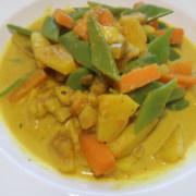 Gemüse Früchte Curry